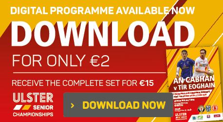 Digital Programme - Cavan v Tyrone REPLAY - Download Now