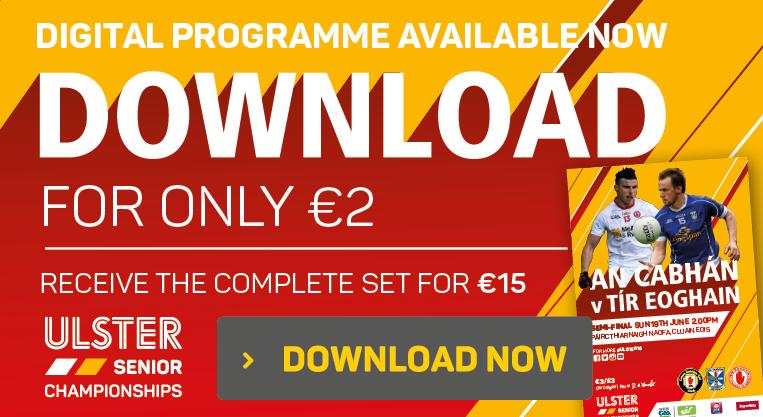 Digital Programme - Cavan v Tyrone - Download Now