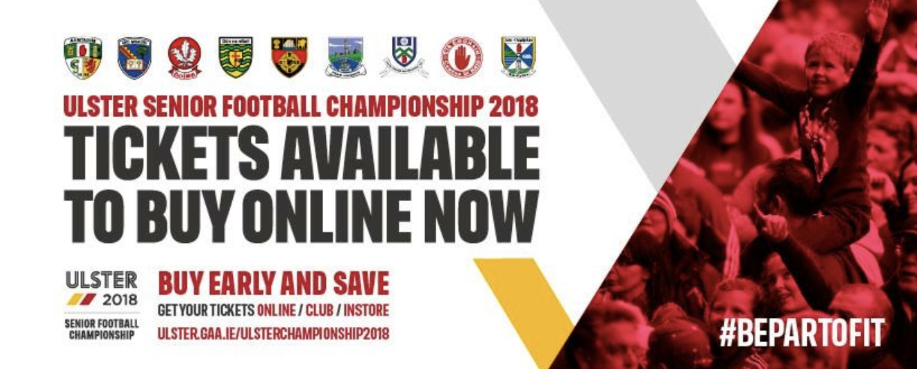 Image result for ulster final tickets