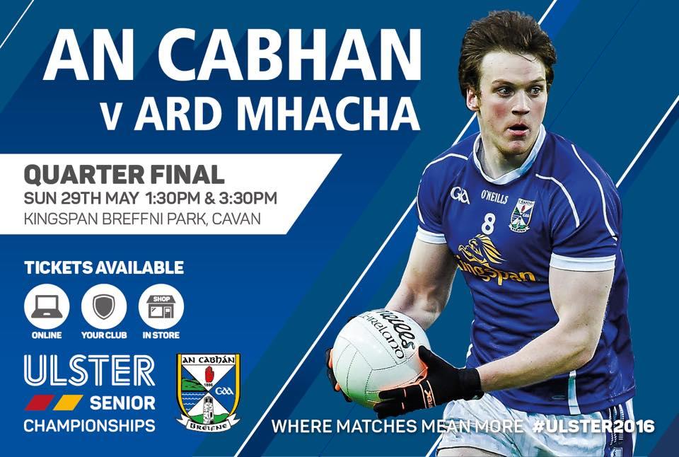 Cavan team to play Armagh