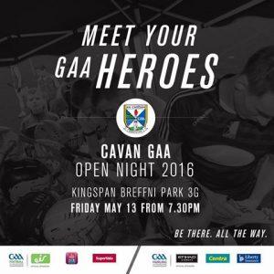 Cavan GAA Open Nite 2016