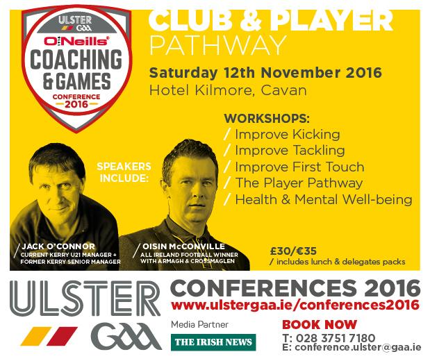 O'Neill's Ulster GAA Coaching & Games Development Conference