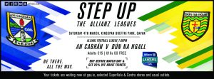 Allianz Footbaball League game v Donegal goes ahead