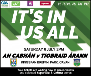 Cavan Panel to play Tipperary