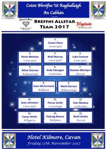 Breffni Allstar Team 2017