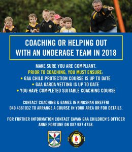 Important Information for Coaching in 2018
