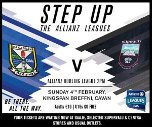 Allianz Hurling League: Team v Sligo