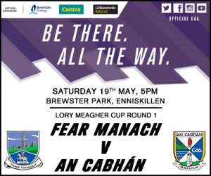Upcoming Lory Meagher Fixtures