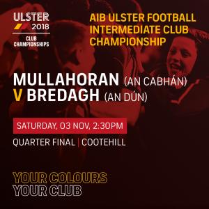 Ulster Club Fixtures – Castlerahan & Mullahoran in action this weekend
