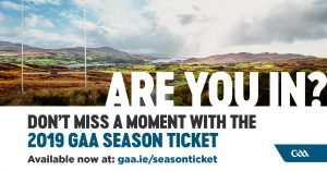 GAA Season Tickets 2019