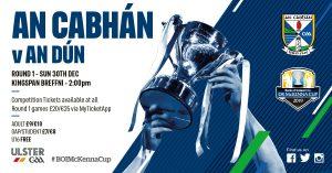 McKenna Cup – Ticket & Fixture Details