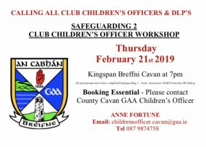 Safeguarding 2 Workshop for Children's Officers & DLP