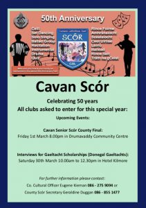 Senior Scór County Final this Friday