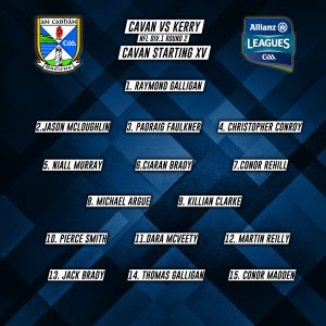 Cavan Panel to play Kerry