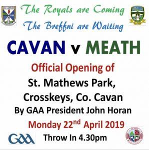 Denn GAA – Official Pitch Opening
