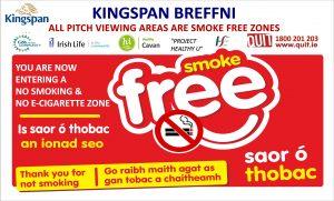 Cavan GAA Adopt Tobacco ControlPolicy for Kingspan Breffni