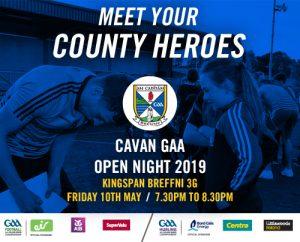 Cavan GAA Open Night