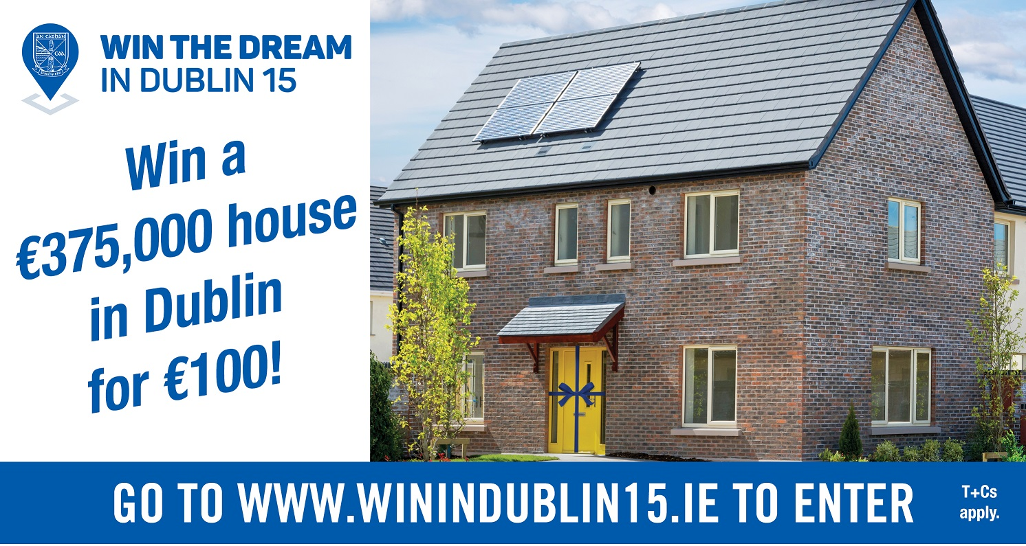 Win 10 tickets for this €375,000 house in Dublin!