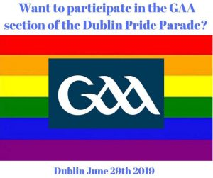 GAA to Participate in Pride Parade