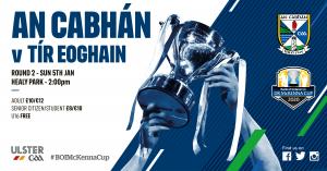 Bank of Ireland Dr McKenna Cup round 2