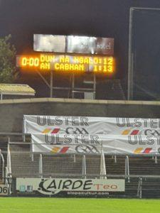 Ulster Final 2020 Match Report.